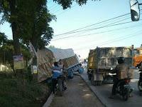 Kecelakaan Tunggal di Jalan Ir Sutami