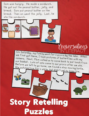 Story Retelling Puzzles