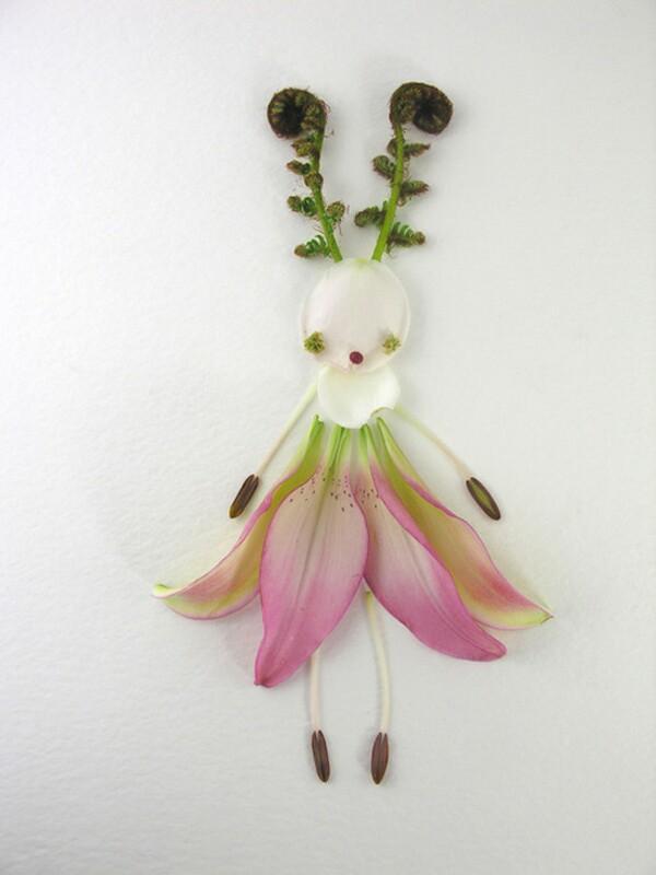 art of flower petals