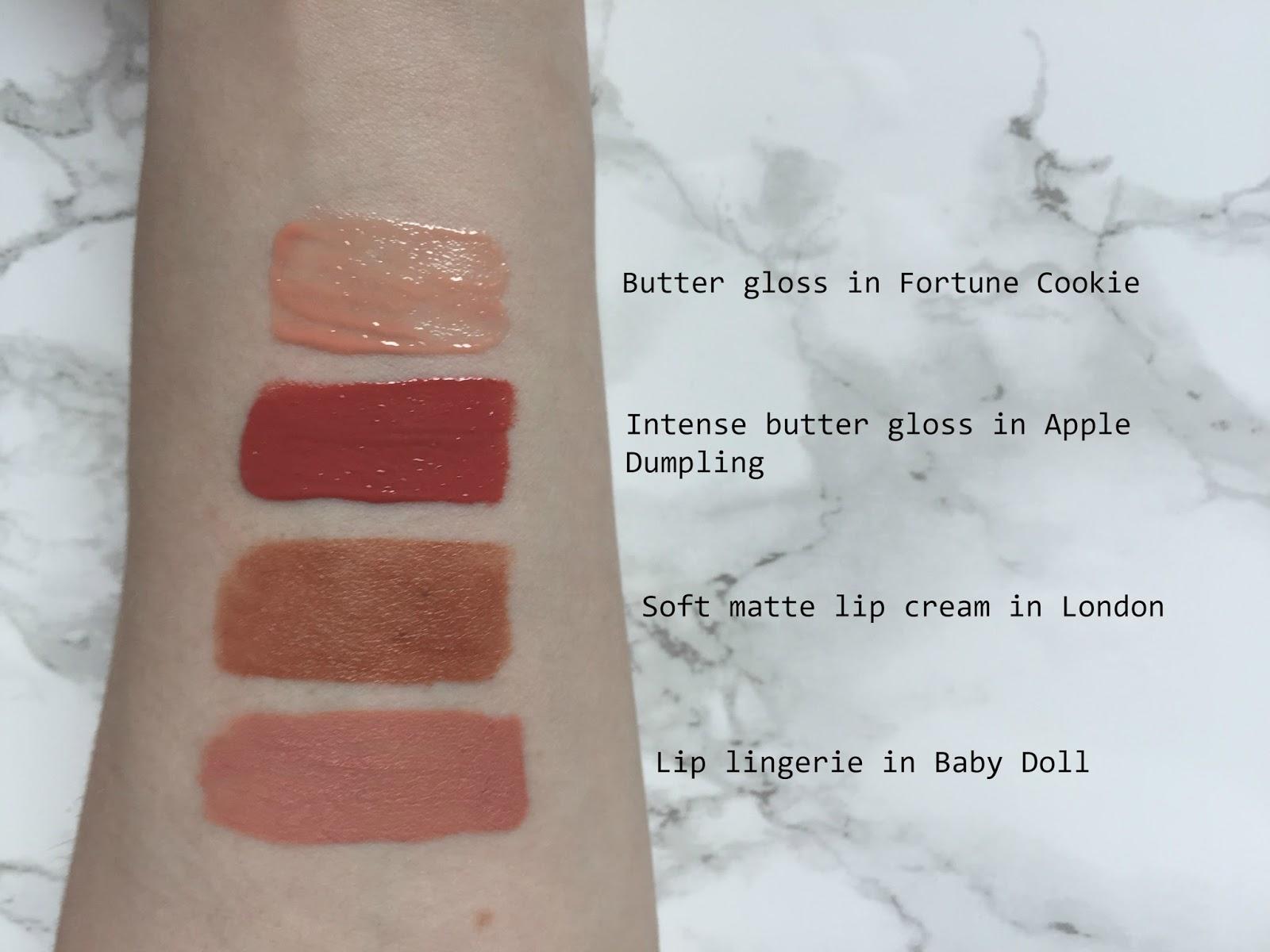 Nyx Lip Products Matte Vs Glossy Olivia Etc