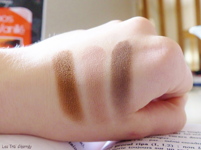 Palette The Nudes Gemey Maybelline maquillage nude