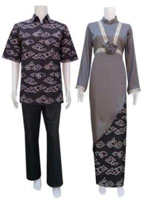 Model baju batik couple untuk lebaran