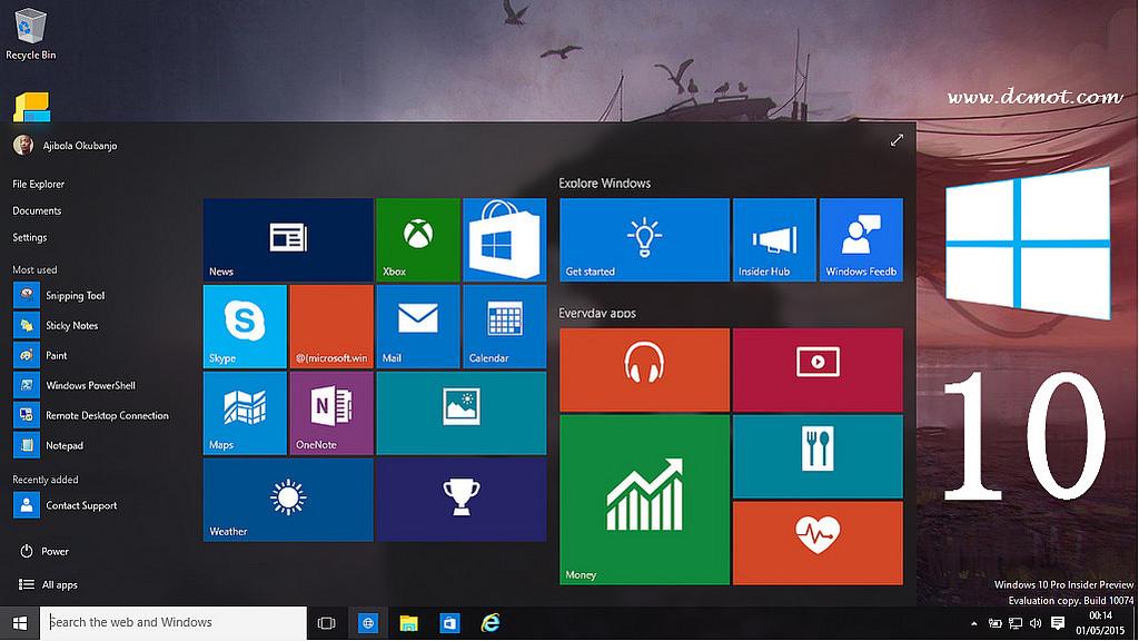 Windows 10 Pro 64 Bit Pre-Activated ISO Download - Windows