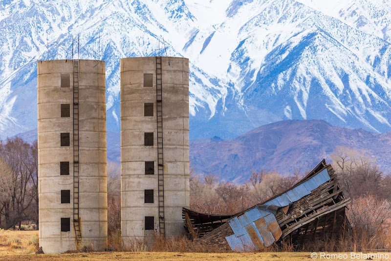 Grain Silos Things to Do in Bishop California