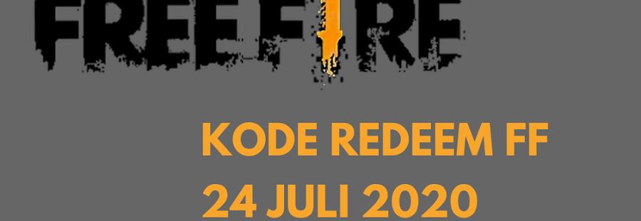 4 Kode Redeem FF Free Fire 24 Juli 2020 Berhadiah Senjata Scar Titan