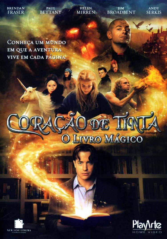 Coração de Tinta: O Livro Mágico Torrent – BluRay 720p e 1080p Dual Áudio (2008)