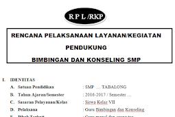 RPL BK Kurikulum 2013 Kelas 7 Lengkap RKP SMP Dan MTs
