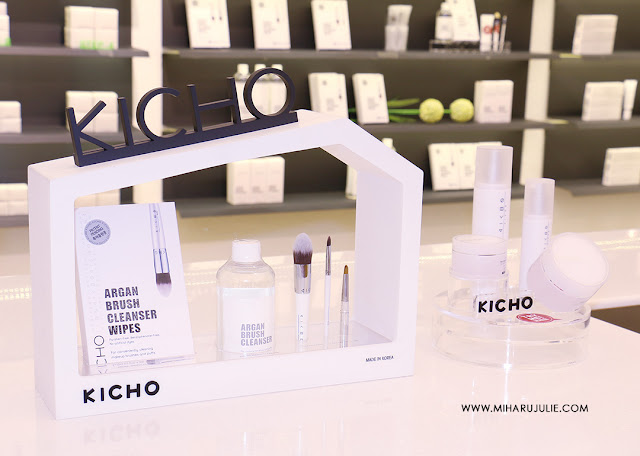 Kicho Argan Brush Cleanser Wipes