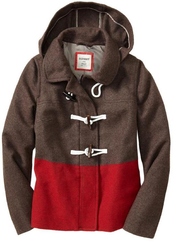 swiss army duffle coat