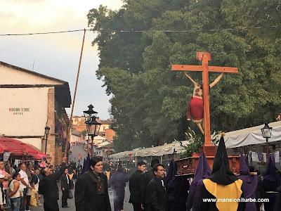 Procesión del Silencio en Pátzcuaro, Michoacán