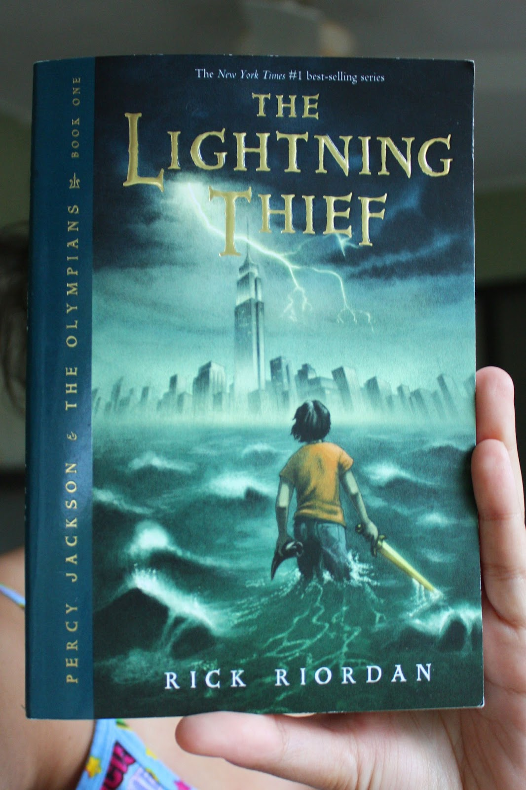 Rawr Reader The Lightning Thief Book Review