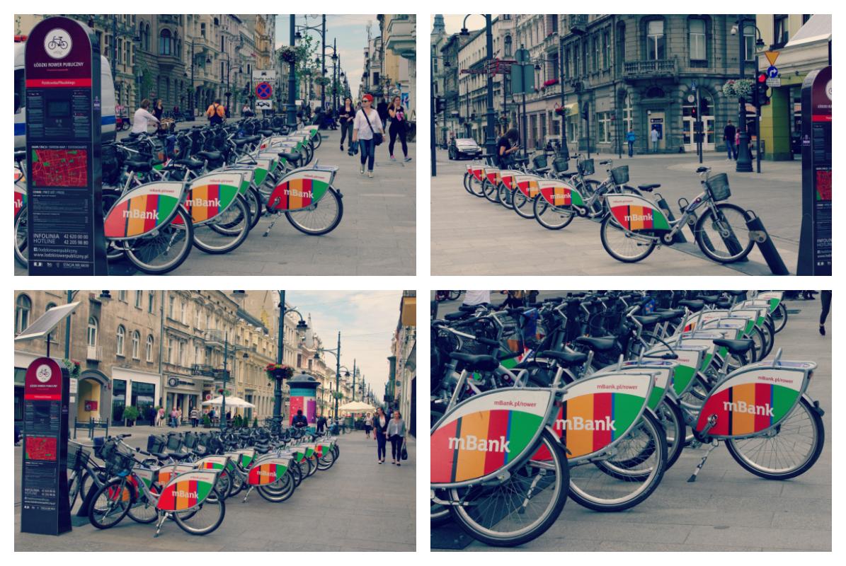 Łódź - miasto rowerów