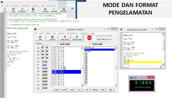 RPP Sistem Komputer Kelas XI Semester 2 BAB 8 : MODE DAN FORMAT PENGALAMATAN