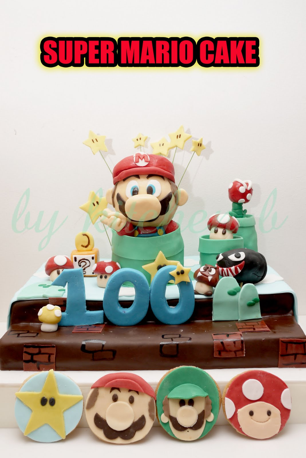 Kitchen B Cartoon Cake