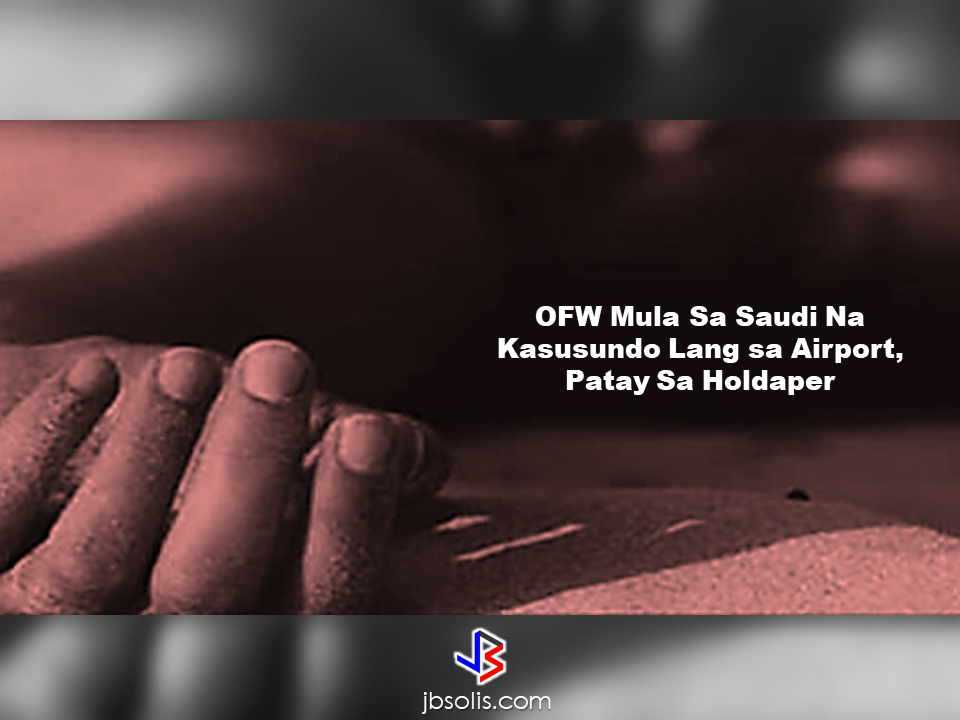 "An Overseas Filipino Worker (OFW) was robbed and killed just hours after his arrival from Ninoy Aquino International Airport (NAIA) Terminal 1. Eduardo Almarez Cueto, 46, an OFW who was working in Saudi Arabia and a resident of Brgy. Cojuangco, Sta Rosa, Nueva Ecija was killed a few hours after his wife, Clarita Mateo Cueto, 48, picked him up from the airport. They were traversing Sta. Rosa-Tarlac Road in Brgy. San Joseph, Sta. Rosa at about midnight when a group of unidentified persons robbed them and killed the OFW.  According to the report of P/Chief Inspector Jeffrey Alivia at the office of Mayor Marita Chua Angeles, after fetching the OFW from the airport and travelling for hours at the Sta. Rosa-Tarlac road going home on board a pickup with plate number ACK-6492, they decided to stop for a moment at about 11:30 in the evening to respond to his ""call of nature"". Thats where the suspects attacked them. On his fright, the OFW ran to a nearby rice field but the ill-intent robbers went after him and pursue him and snatched his expensive necklace. The victim struggled and tried to fight back but the robbers shot him and took his wallet and his bag containing undetermined cash and belongings. Source: Abante Read More:        ©2017 THOUGHTSKOTO www.jbsolis.com SEARCH JBSOLIS, TYPE KEYWORDS and TITLE OF ARTICLE at the box below"