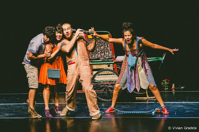 """Teatro inspirado na poesia de Manoel de Barros e a dança """"Mulheres entoaram tempestades"""" estão entre os destaques do Sesc"""