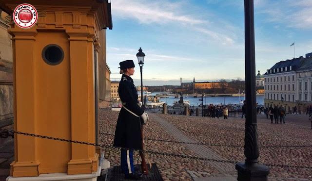 Palacio Real, Estocolmo, Suecia