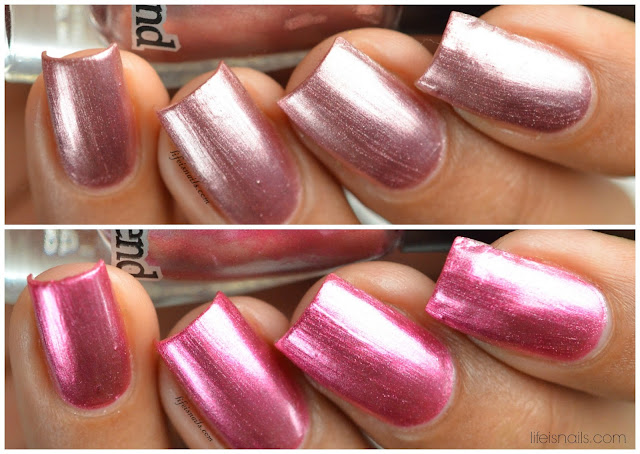 Dance Legend Steel Collection swatches