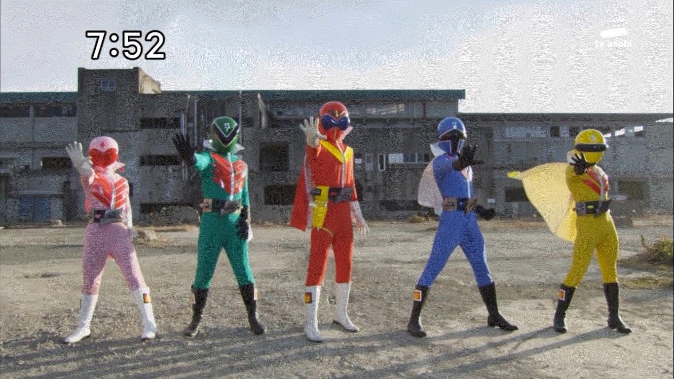 Paolo1350's Lane: Super Sentai Suit Critic