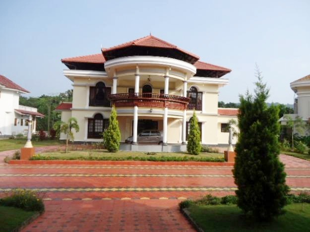 India kerala and international villa pictures kerala for Villa plans in kerala style