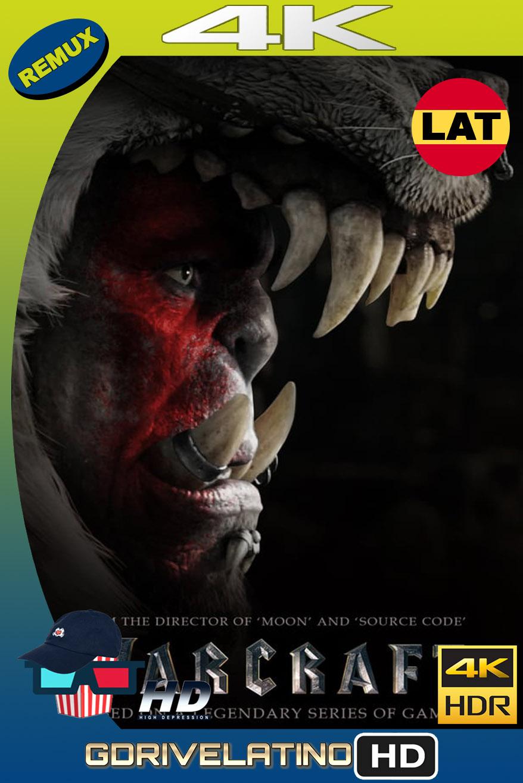Warcraft (2016) REMUX 4K UHD 2160p Latino-Inglés MKV