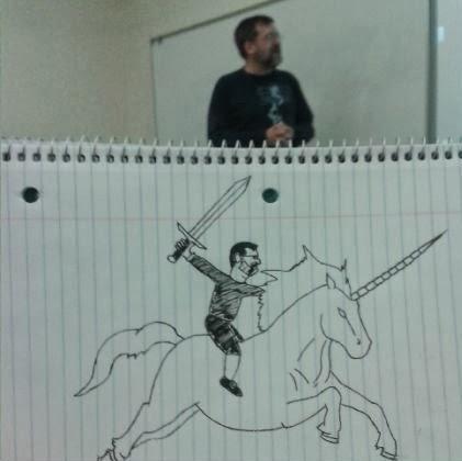 un-etudiant-dessine-son-prof-durant-les-cours-2 un étudiant dessine son professeur pendant les cours quand il s'ennuie