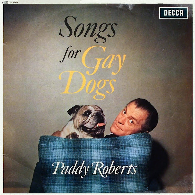 Funny Paddy Roberts Songs for Gay Dogs Album Cover Picture