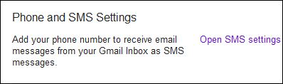 HOW TO ACTIVATE Gmail SMS