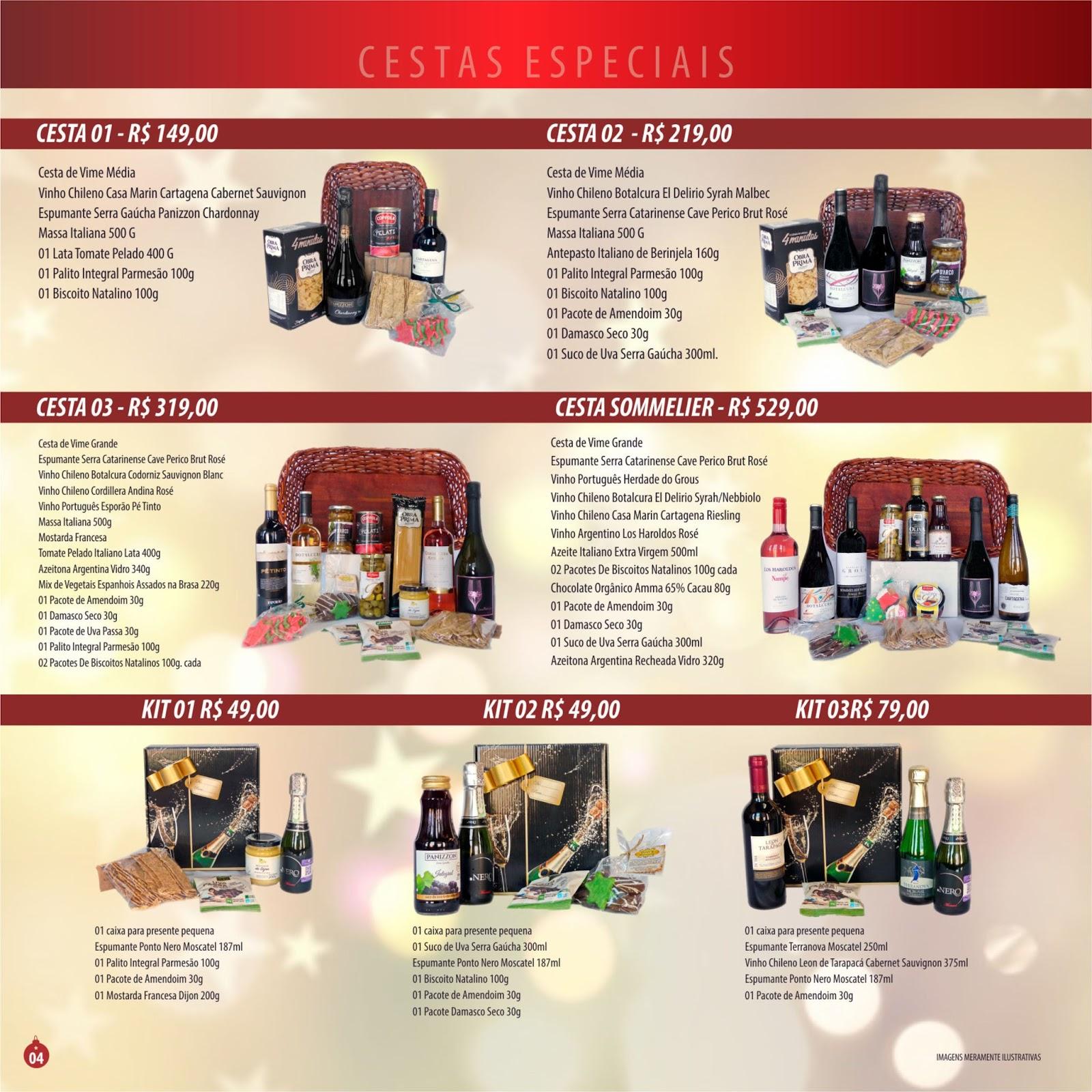 Sommelier vinhos passo da p tria 166 cat logo natal 2017 for Catalogo bp 2017