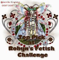 Top Pick at Robyn's Fetish Challenge