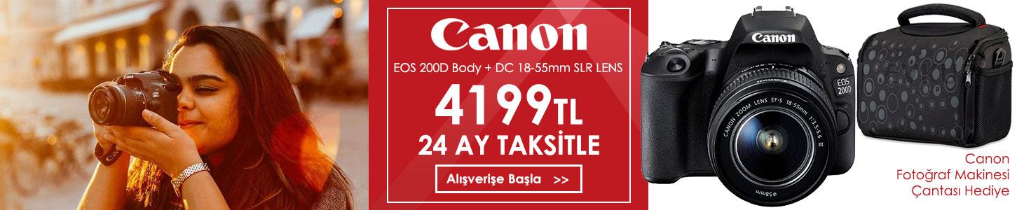 Canon EOS 200D Kamera Kampanyası