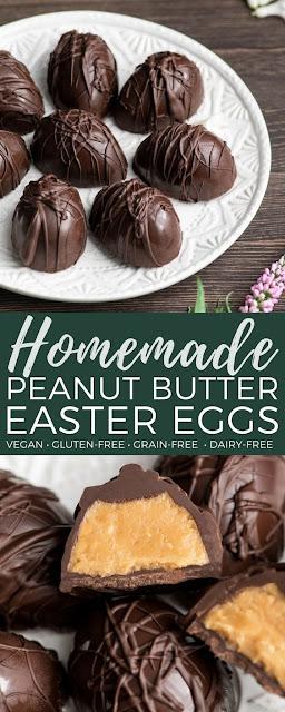 Homemade Vegan Peanut Butter Eggs