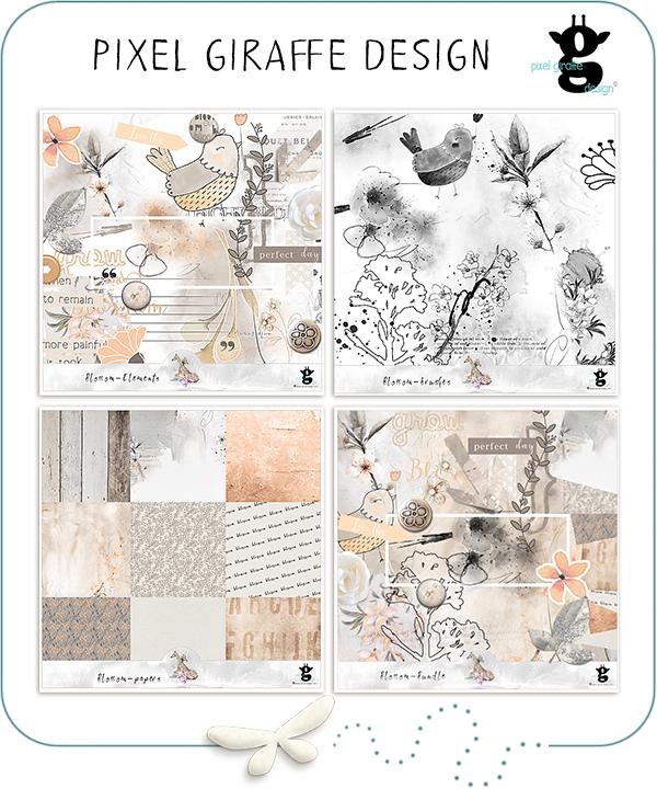 http://winkel.digiscrap.nl/Pixel-Giraffe-Design/