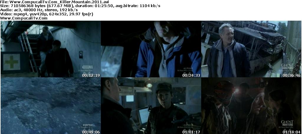 Killer Mountain 2011 [DVDRip] Subtitulos Español Descarga [1 Link]