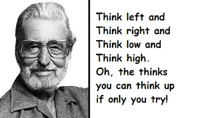 """Dr. Seuss Quotes About Thinking"""
