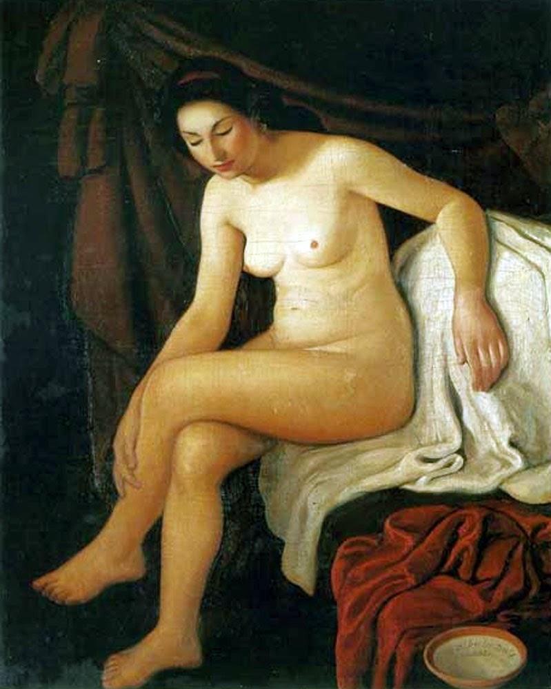 Alberto Duce Vaquero,  Artistic Nude, Portrait arts, Nude Art, Human Study, Nude by Painter Alberto Duce Vaquero