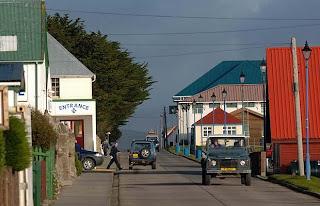 De viajeros por las Islas Malvinas o Falkland Islands 11