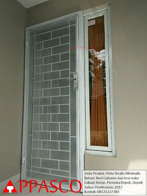 Pintu Teralis Minimalis Besi