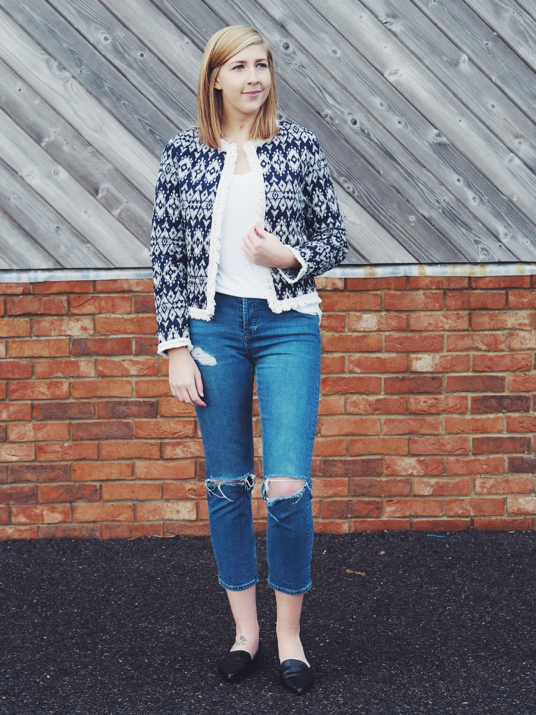 tribalblues, primark, wiw, whatimwearing, topshop, ASOS, fbloggers, fblogger, fashionpost, fashionbloggers, ootd, outfitoftheday, lotd, lookoftheday, rippedjeans