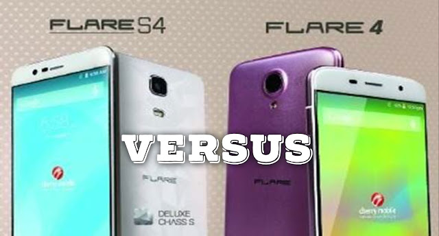 Cherry Mobile Flare S4 versus Cherry Mobile Flare 4