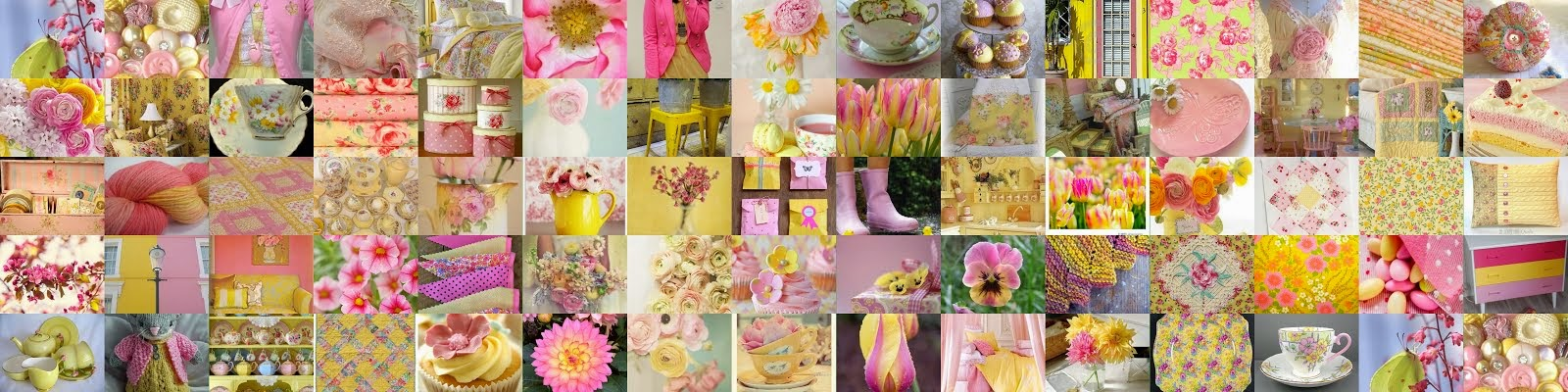 Yellow and Pink - they make me Sparkle!