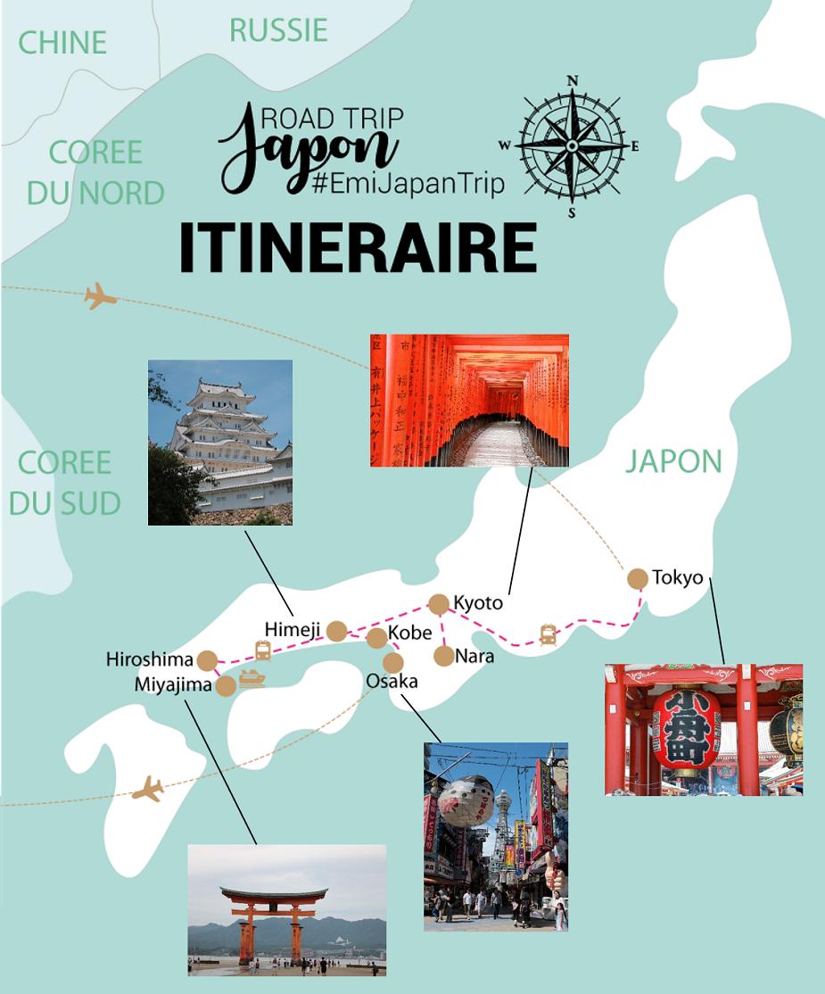 My Travel Background : mon road trip de 14 jours au Japon : itinéraire & infos pratiques
