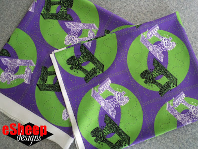 Sewing Machine Zen fabric by eSheep Designs