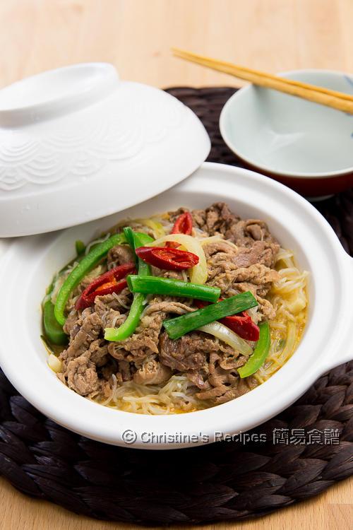 沙爹牛肉粉絲煲 Satay Beef with Vermicelli Noodles01