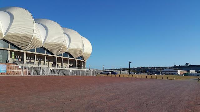 Nelson Mandela Bay Stadium Entrance North End Lake View