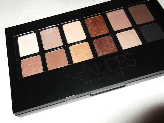 Maybeline : The Nudes Palette