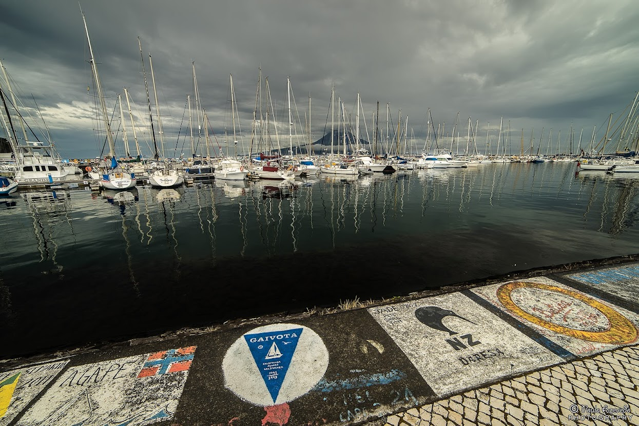 O que visitar no Faial - Marina da Horta