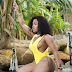 OAP Moet Abebe Shows Off Her Curves In Yellow Bikini During Vacation In Ghana (Photos)