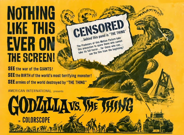 Image result for godzilla vs the thing