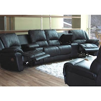 Sofa Online Store Curved Reclining Sofa